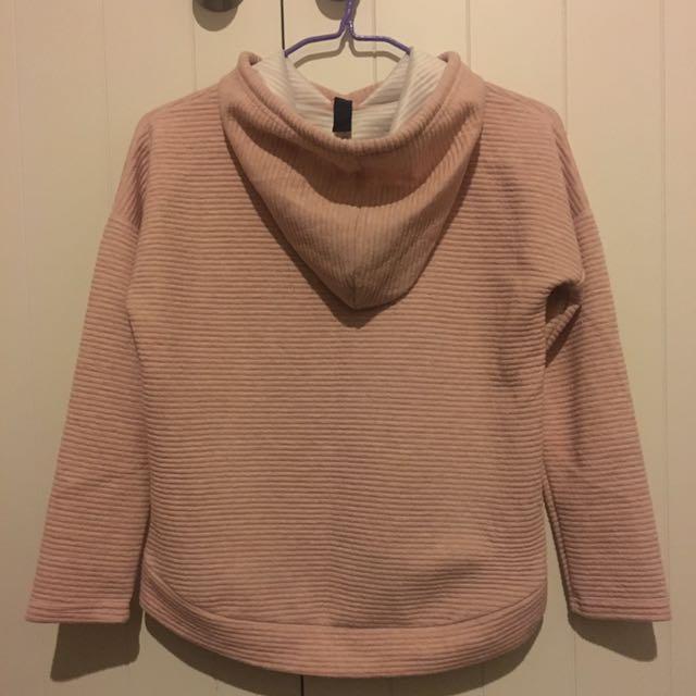 pink winnter coat