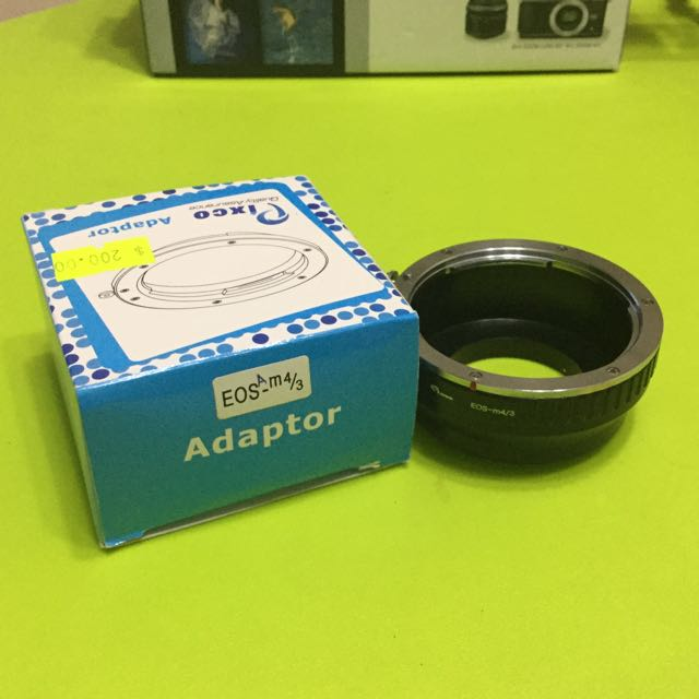 Pixco Canon 鏡 轉 M43 轉接環 Canon To M43 Adaptor