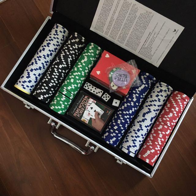 Poker Set Texas Hold Em