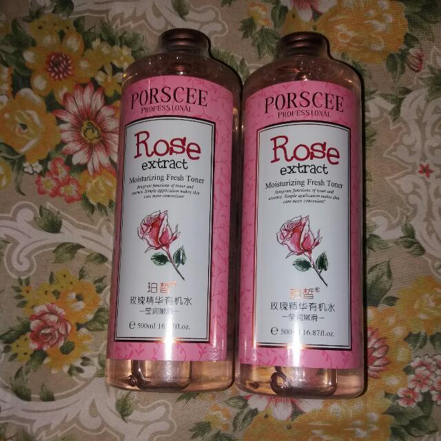 Porscee Rose Toner 500ml