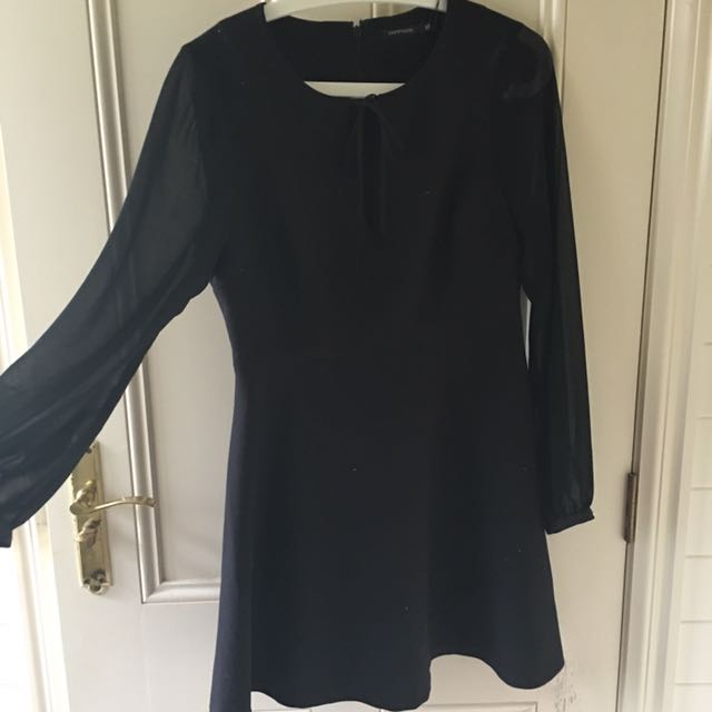 Portmans Mesh Sleeved Dress (Brand new!)
