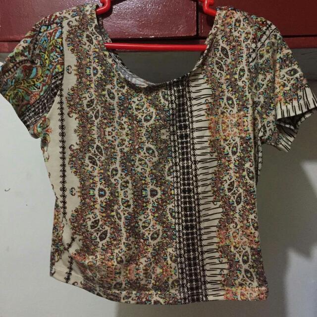(REPRICED) Printed Shirt