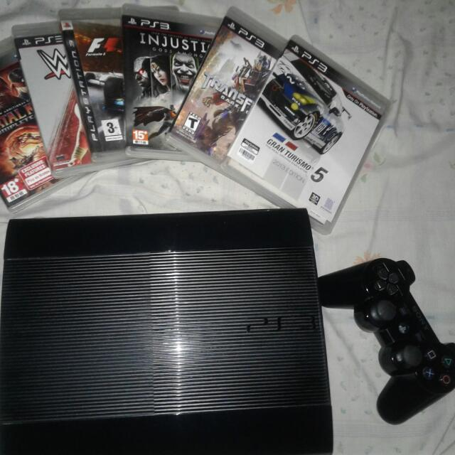 ps3 superslim 500g