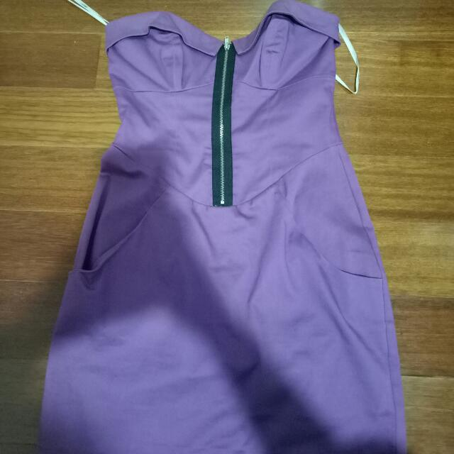 Purple Formal Dress