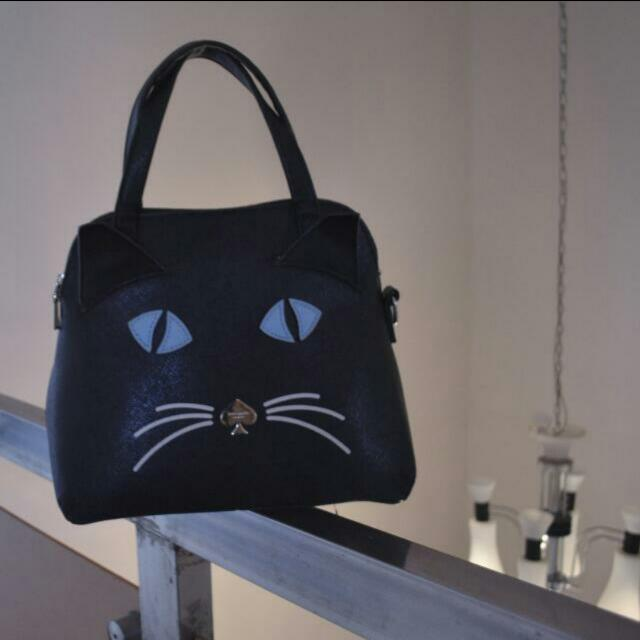 REPRICE! Kate Spade Meow Catty Bag