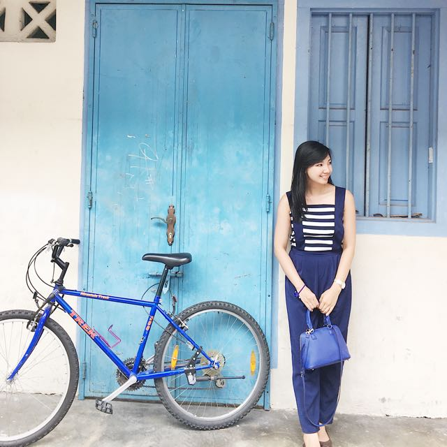 Sailor Jumpsuit Blue