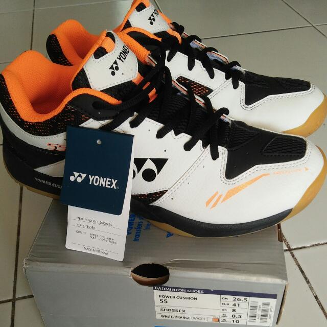 Sepatu Badminton Yonex SHB 55 EX size 41