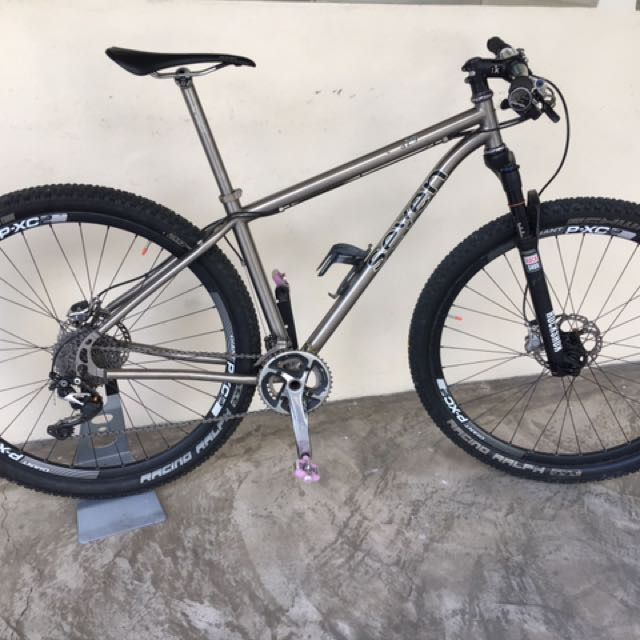 Seven Sola SL 29er Titanium MTB, Bicycles & PMDs, Bicycles on Carousell