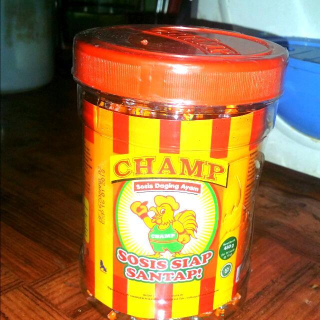 Sosis Champ Rasa Sapi Dan Ayam