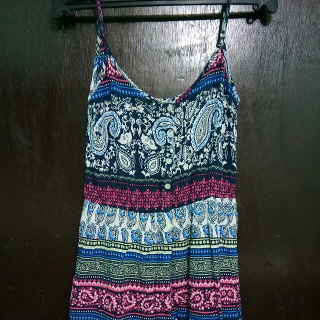 Spaghetti Straped Dress *repriced* less 50php