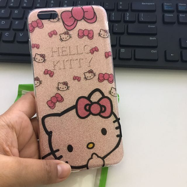 Sparkly Hello Kitty iPhone6S+