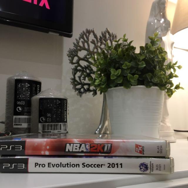 Sport series - NBA 2K & Soccer