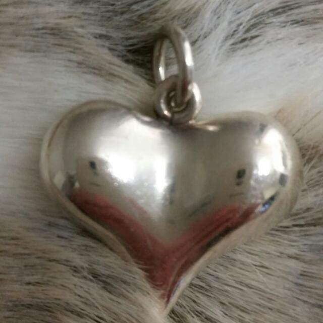 Silver Love Heart Pendant