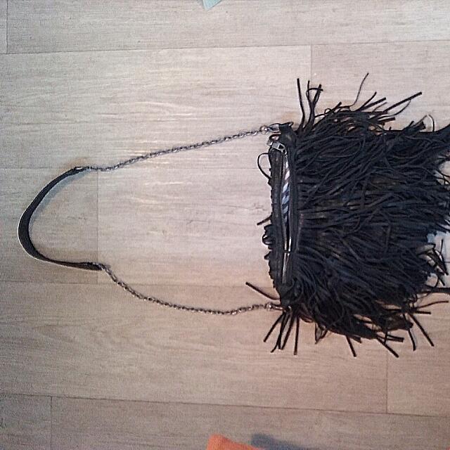 Steve Madden Boho Kate Moss Styles Shoulder Tassle Bag.