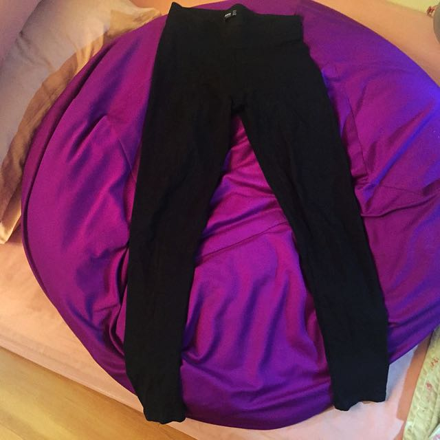 Stradivarius Black Legging