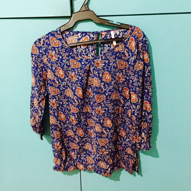 Stradivarius Printed top
