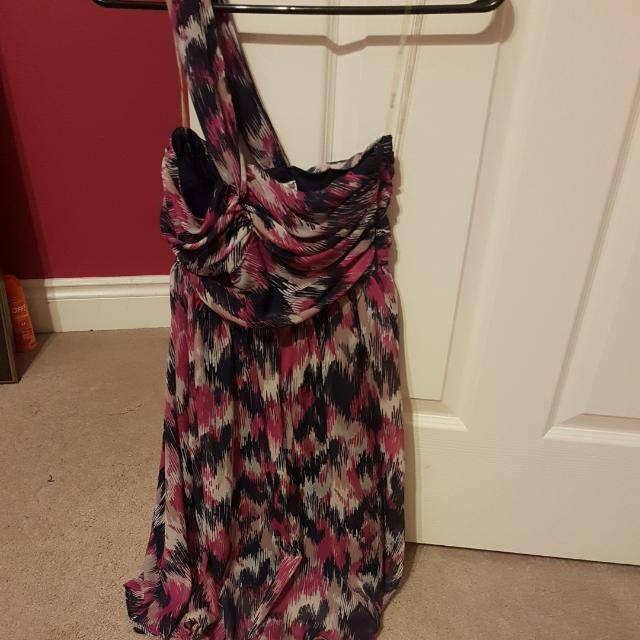 Summer Dress (one Shoulder)