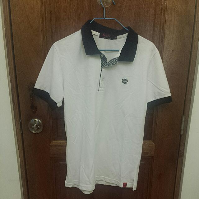 Surf and Skate White Polo