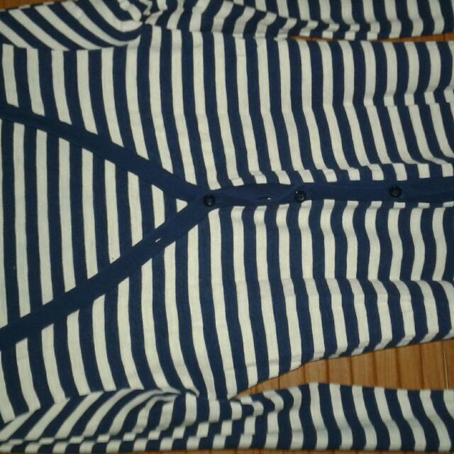 Sweater Garis Navy