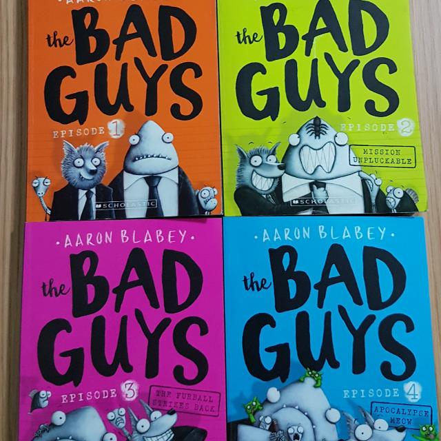 'The Bad Guys' Episodes 1-4  by Aaron Blabey