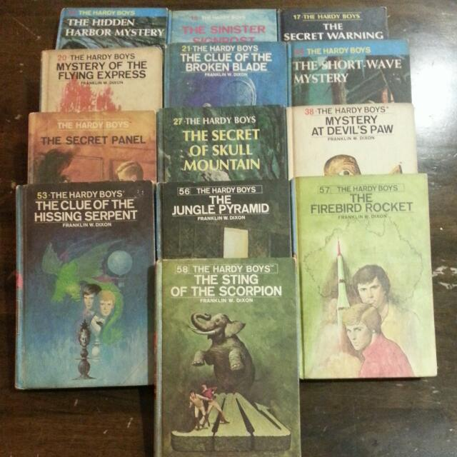 The Hardy Boys Series Books Stationery Childrens Books On Carousell