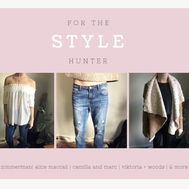 Tops, Crops, Jackets, Jumpers, Pants & More