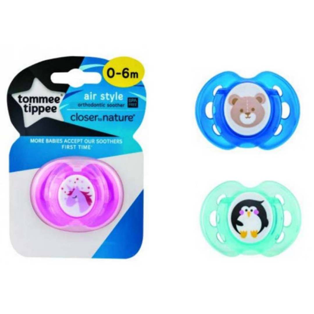 Tommee Tippee - CTN Air Style Soother 0-6mos