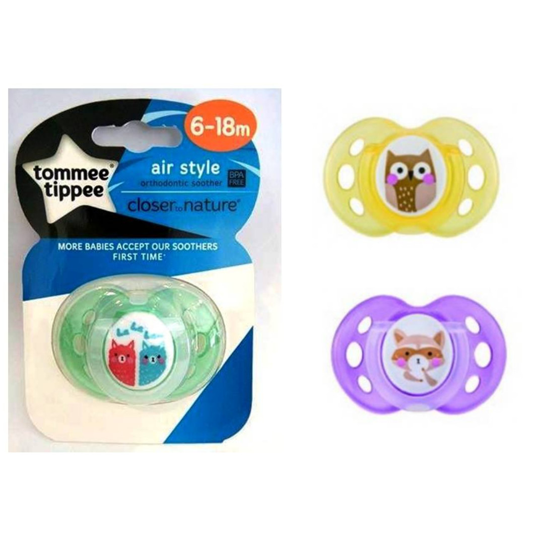 Tommee Tippee - CTN Air Style Soother 6-18mos