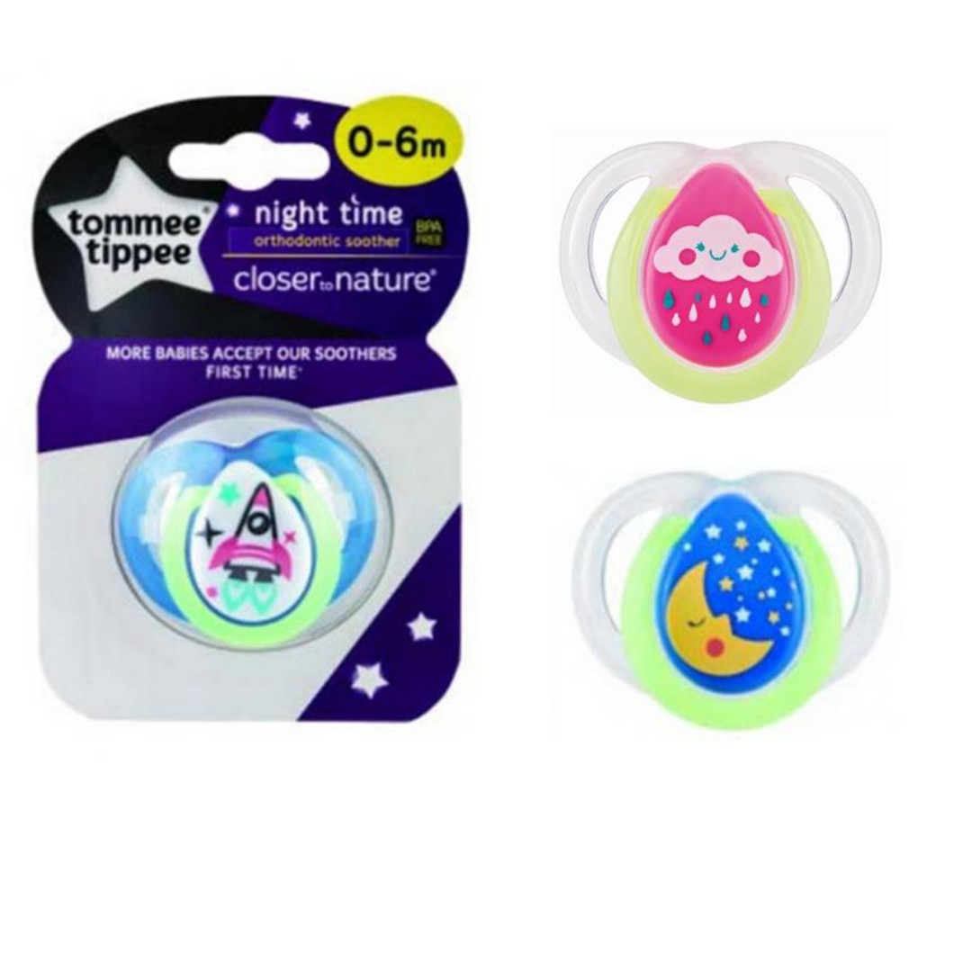 Tommee Tippee - CTN Night Time Soother 0-6mos