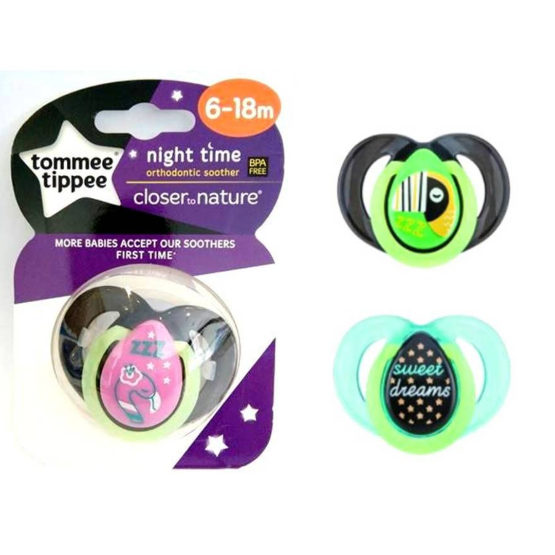 Tommee Tippee - CTN Night Time Soother 6-18 mos