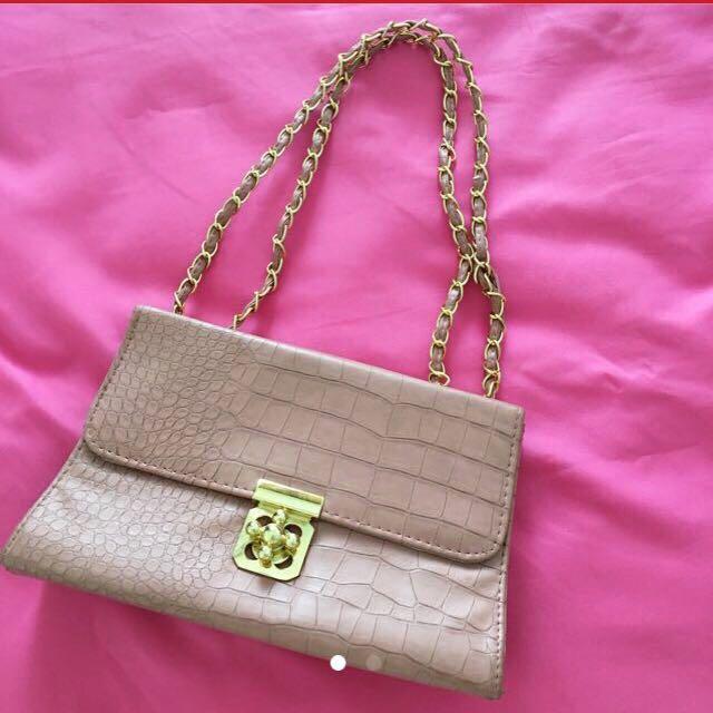 Trapez Shoulder Bag 3in1