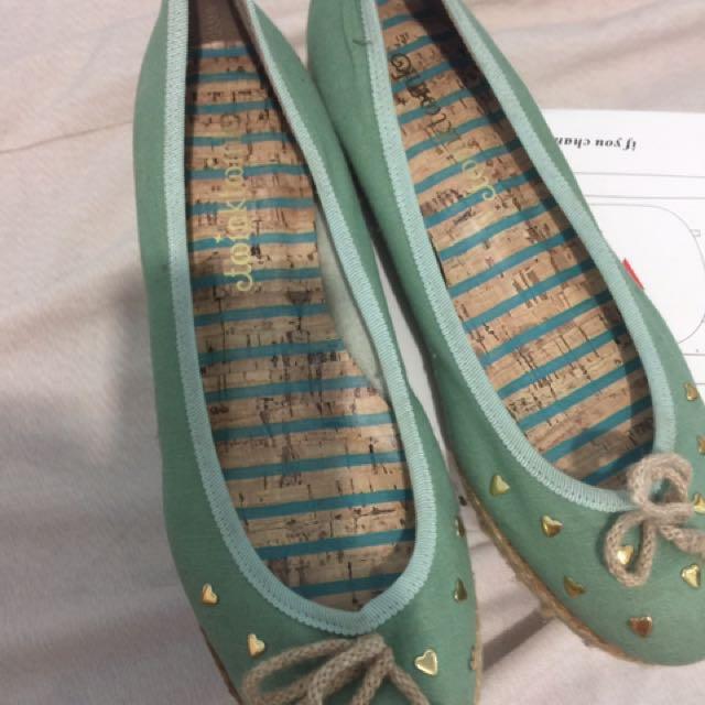 twinktwink mintgreen dollshoes