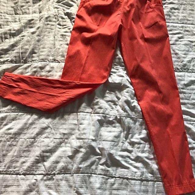 Unbranded Orange Pants