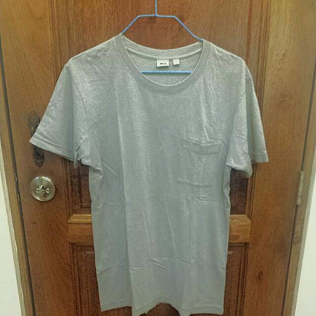 Uniqlo Gray Shirt