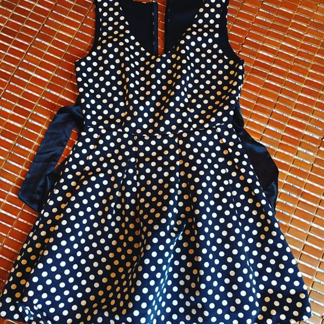 Vintage Dot Dress