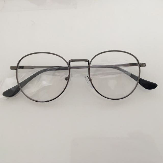 Vintage Gunmetal Gray Glasses