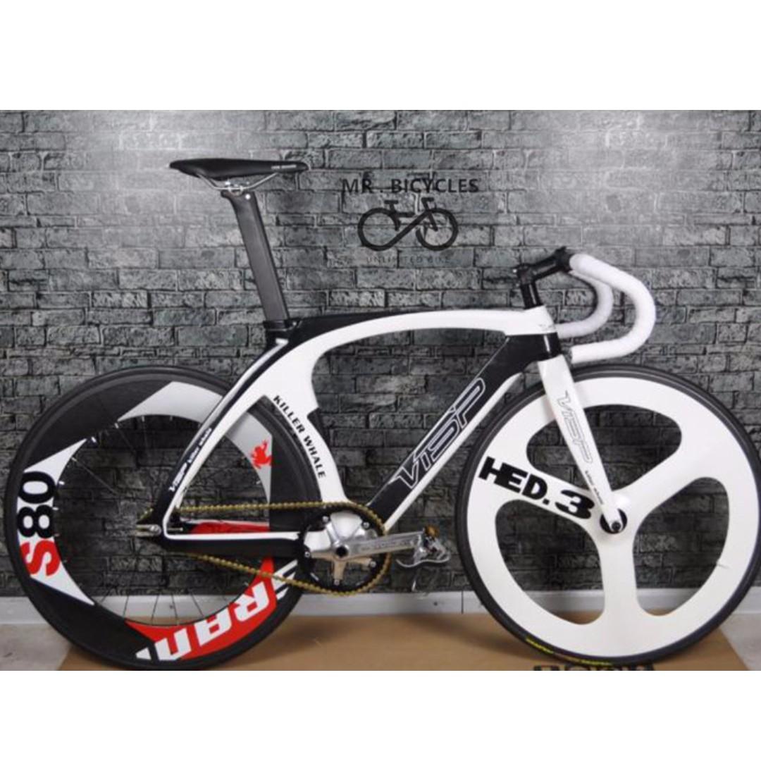 VISP KILLER WHALE - FULL Bike/ Frame set, Pro fixed gear / Track ...
