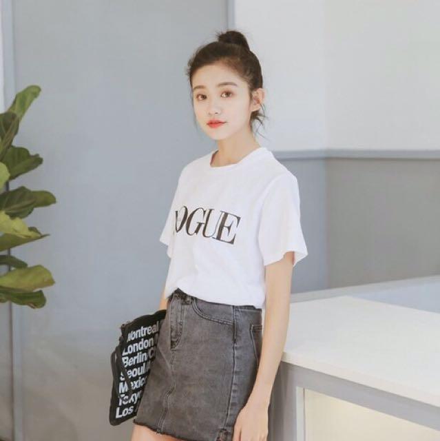 全新VOGUE雜誌踢恤T恤上衣