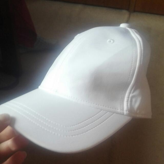 White Lululemon Hat