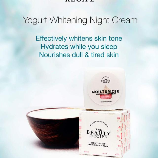 Whitening Night Cream Moisturizer