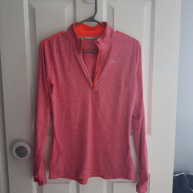 Womens Nike Dri-fit Running Pullover Size Small