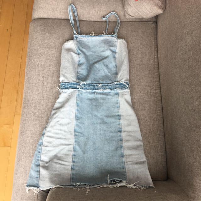 Zara Denim Dress Size S