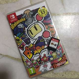 NINTENDO SWITCH SUPER BOMBERMAN