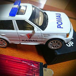 """Miniatur Mobil """"Kawal"""" POMAU ANGK UDARA"""