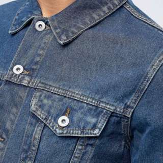 ASOS Men's Denim Jacket - Blue Wash XXL