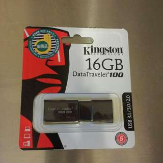 Kingston 16GB USB手指
