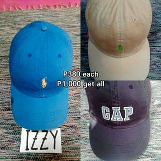 POLO, GAP SPORTS CAP