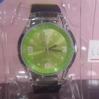 🚚 LOTUS專櫃 質感時尚外型 100%防水手錶 抗過敏矽膠帶
