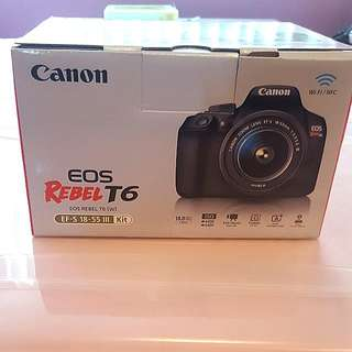 CANON REBEL EOS T6