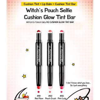 #01 Red Moon Witches Pouch Selfie Cushion Glow Tint Bar